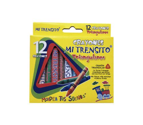Crayón Triangular X 12 Unidades