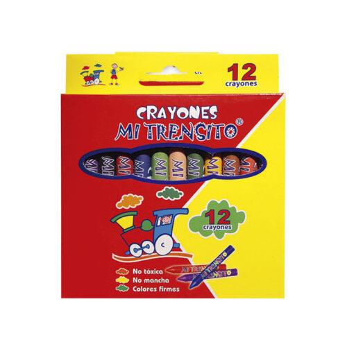Crayón Escolar X12 Unidades