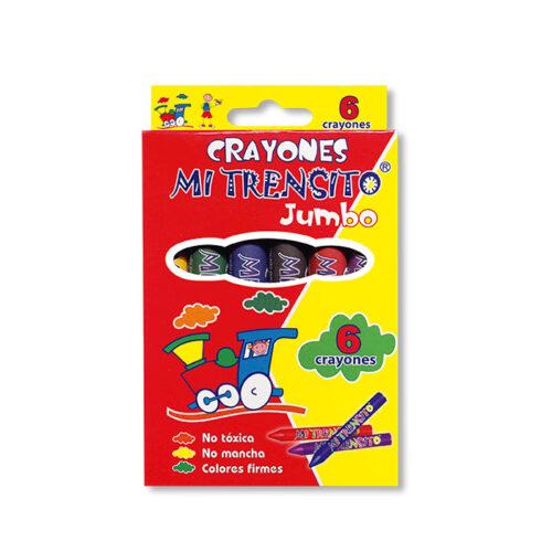 Crayón Jumbo X6