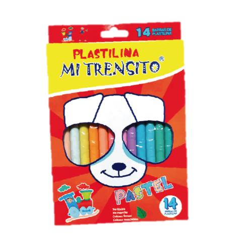 Plastilina Pastel X 14 Barras